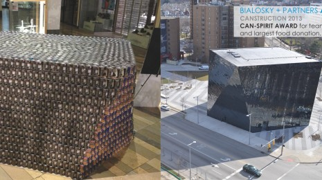 Bialosky + Partners Architects Cleveland Canstruction Design